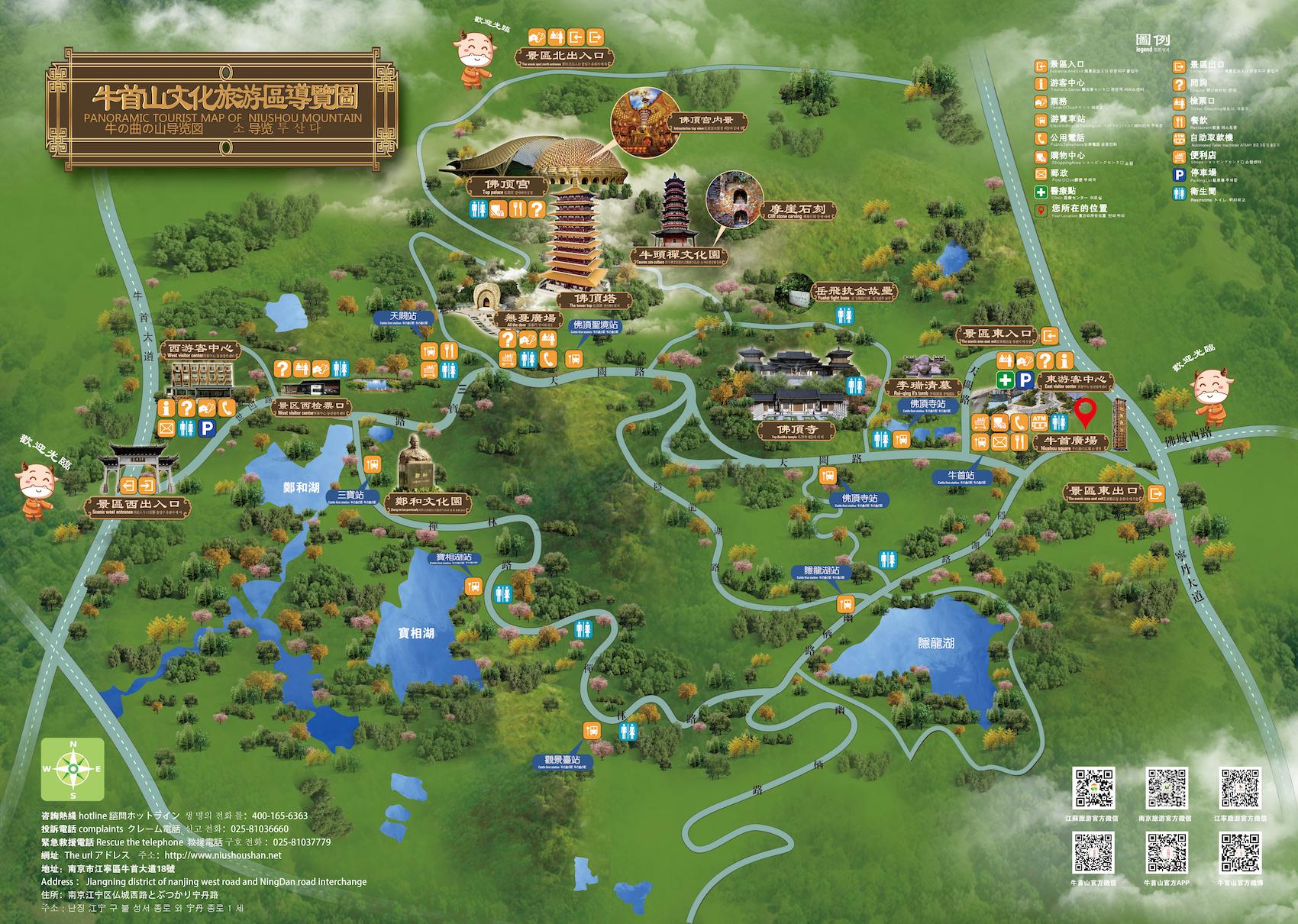 景区线路图