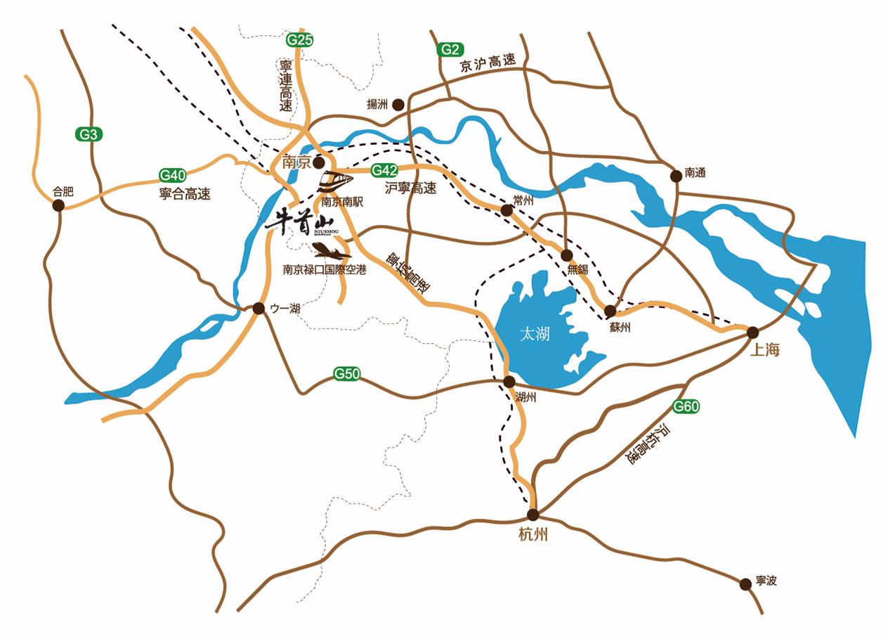 交通线路图